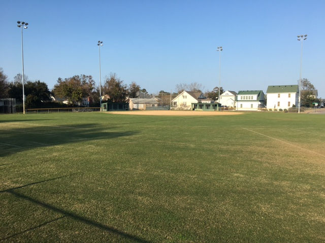 Baseball Field at COA Roanoke Island Parks & Recreation
