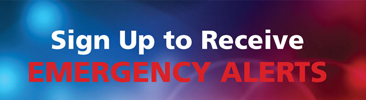 Emergency Alerts Header