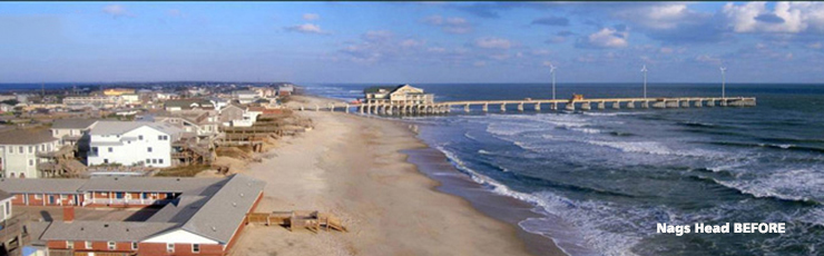 Nags Head Before Beach Nourishment