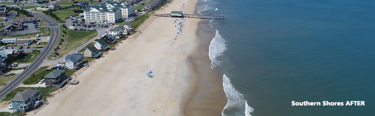 Southern Shores After Beach Nourishment