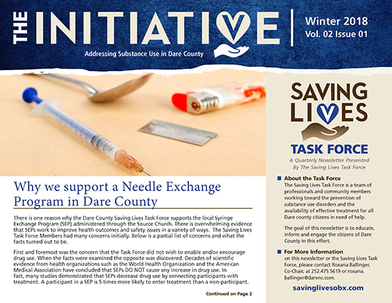 Saving Lives OBX Newsletter