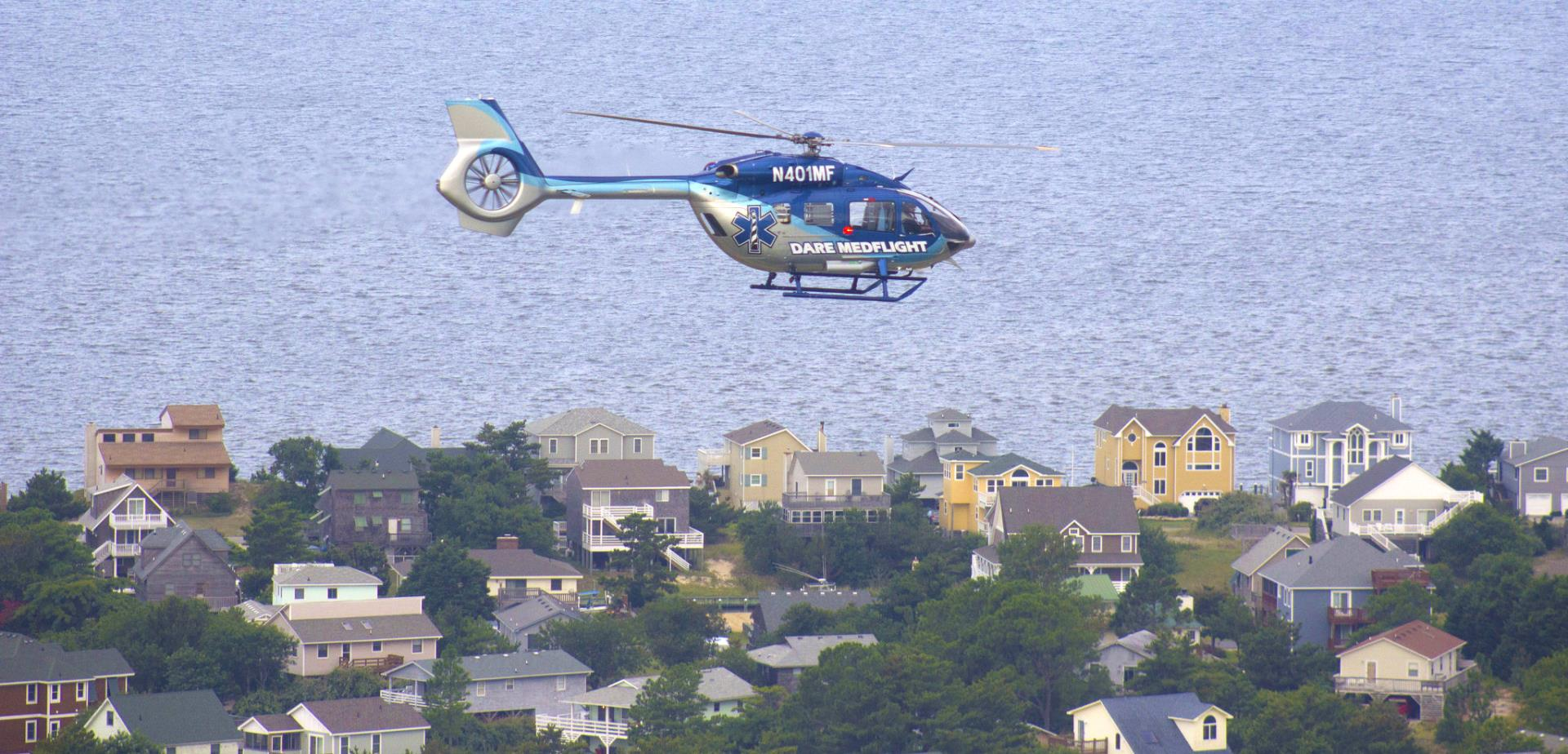 Dare MedFlight over Nags Head