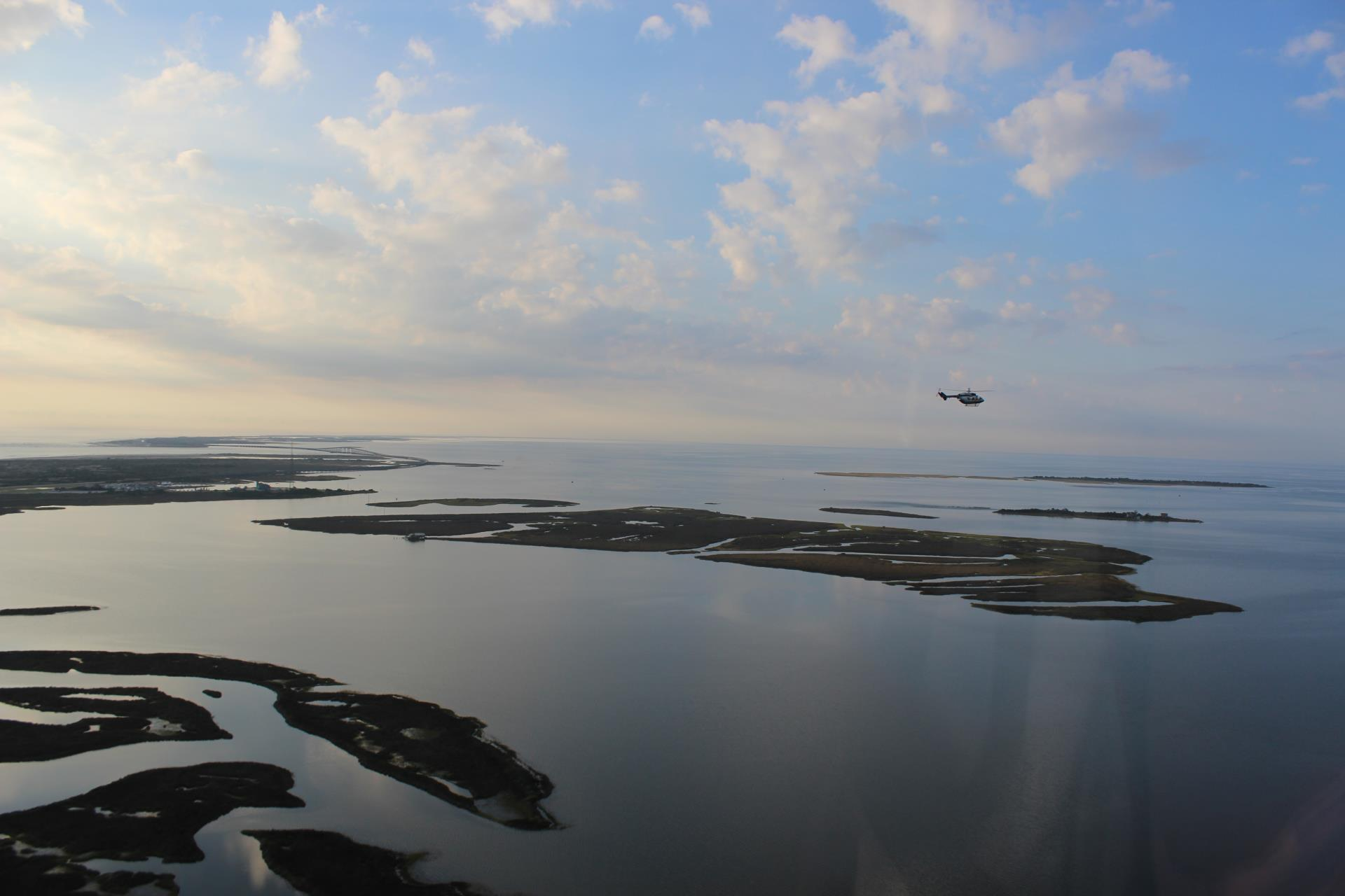 Dare MedFlight Over Pea Island