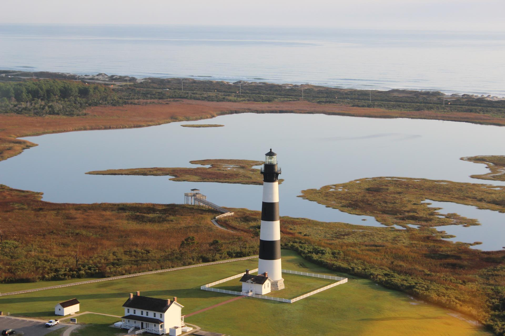 The Bodie Island Lighthouse